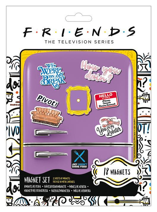 FRIENDS - Magnet Set - How You Doin'_1
