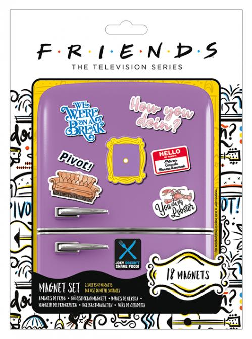 FRIENDS - How You Doin' - Set d'aimants