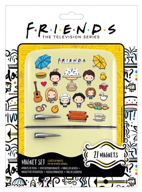 FRIENDS - Chibi - Set de magnets