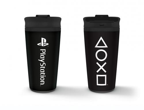 PLAYSTATION - Onyx - Mug de voyage en métal 450ml