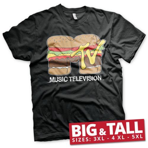 MTV - T-Shirt Big & Tall - Hamburger (3XL)