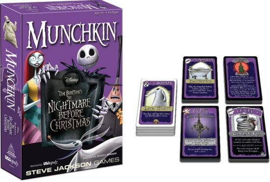 NIGHTMARE BEFORE CHRISTMAS - Munchkin Game 'UK Only'