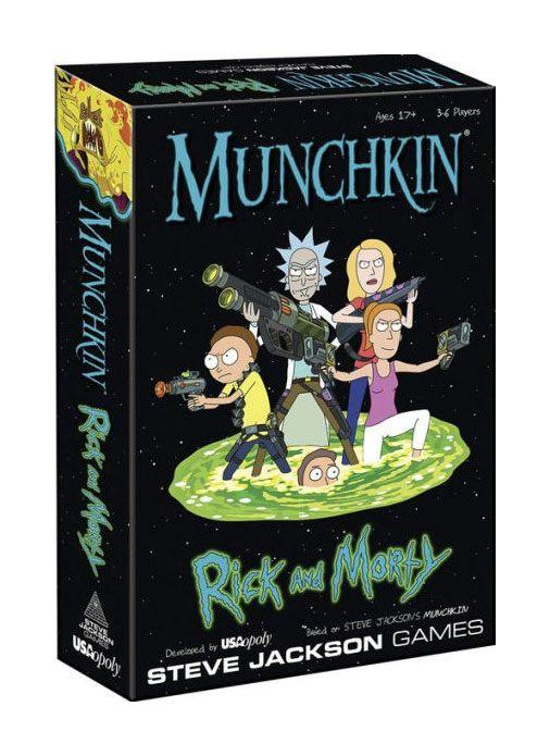 RICK & MORTY - Munchkin Game 'UK Only'