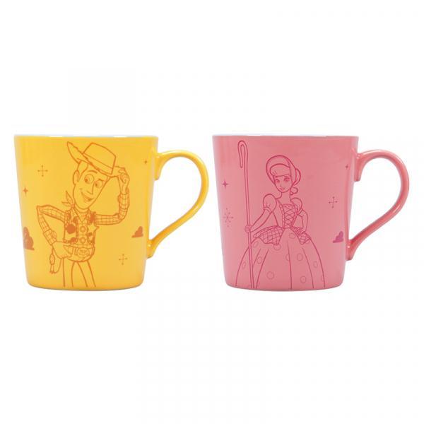 DISNEY - Mug Boxed Set of 2 - Toy Story woody & Bo Peep