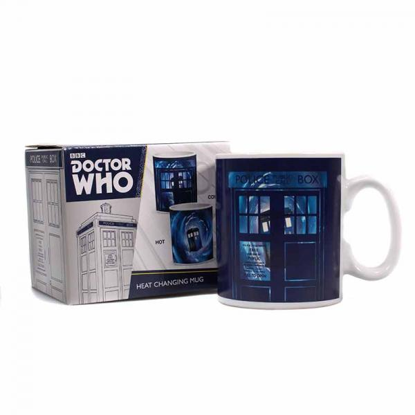 DOCTOR WHO - Heat Changing Mug 400ml - Time Lord