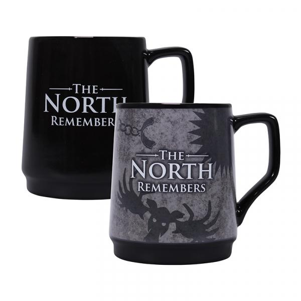 GAME OF THRONES - Heat Changing Mug - The North Remembers