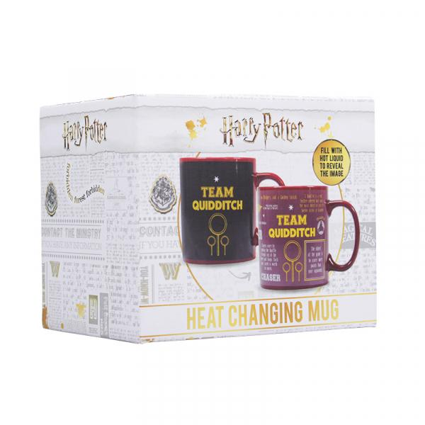 HARRY POTTER - Mug Boxed - Team Quidditch