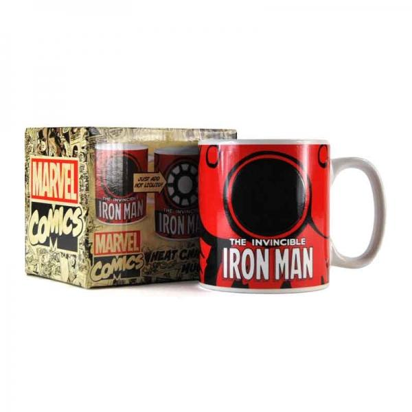 MARVEL - Mug Thermique - 400 ml - Iron Man