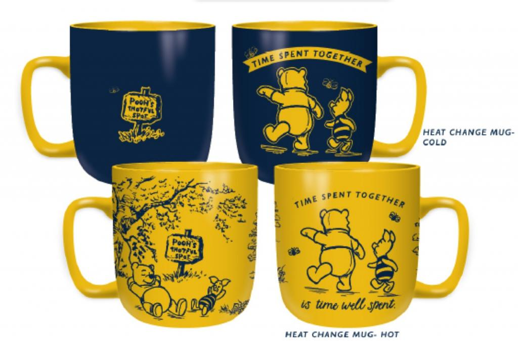 WINNIE THE POOH - Mug Heat Changing - Time