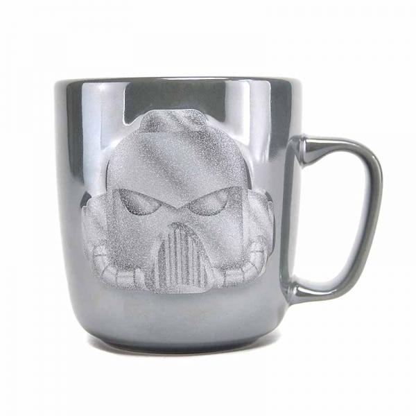 WARHAMMER - Embrossed Metallic Mug - Space Marine