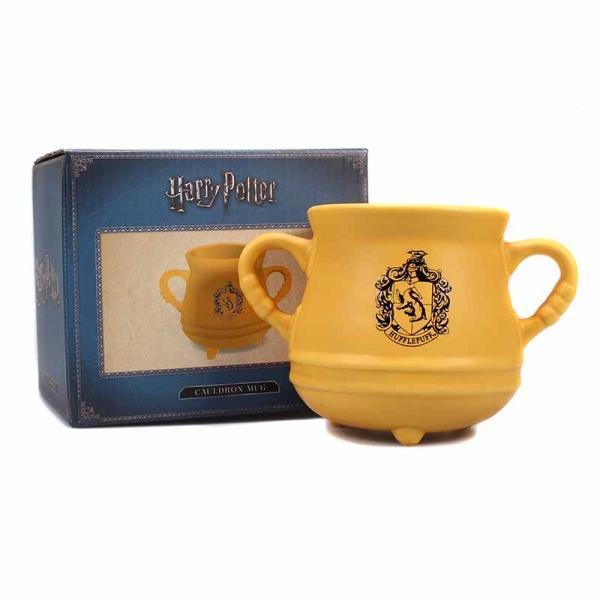 HARRY POTTER - Mug Cauldron 650ml - Hufflepuff