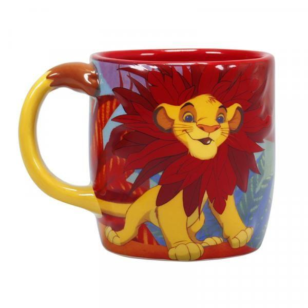 DISNEY - Shaped Mug 3D - Le Roi Lion Simba