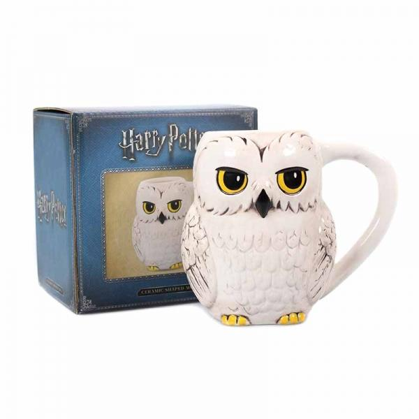 HARRY POTTER - Shaped Ceramic Mug 3D 425 ml - Hedwig