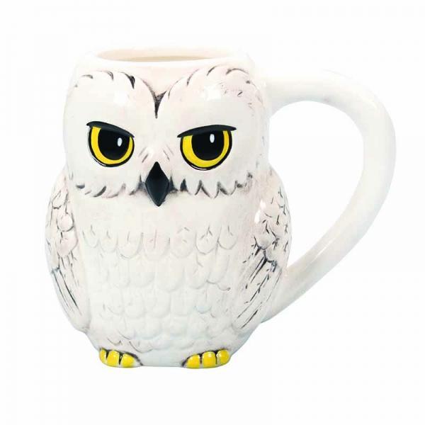 HARRY POTTER - Shaped Ceramic Mug 3D 425 ml - Hedwig_4