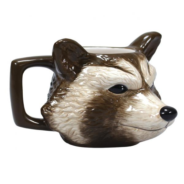 MARVEL - Shaped Mug 3D Boxed - Rocket_1