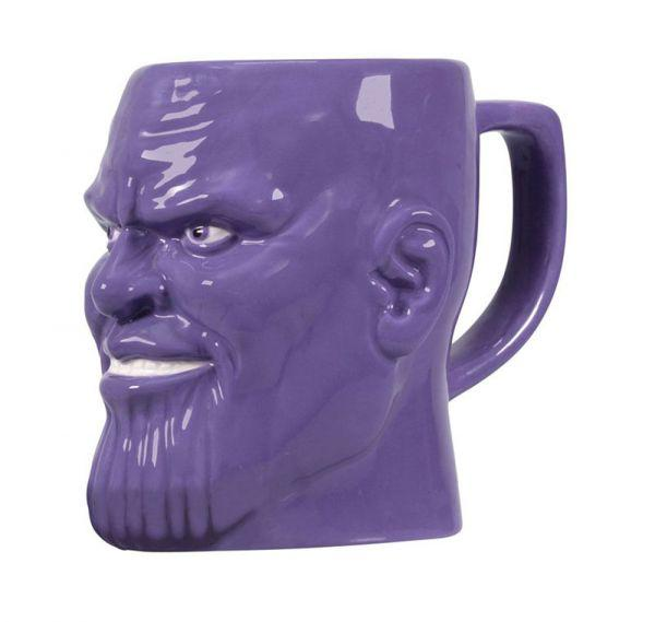 MARVEL AVENGERS - Shaped Mug 3D Boxed - Thanos