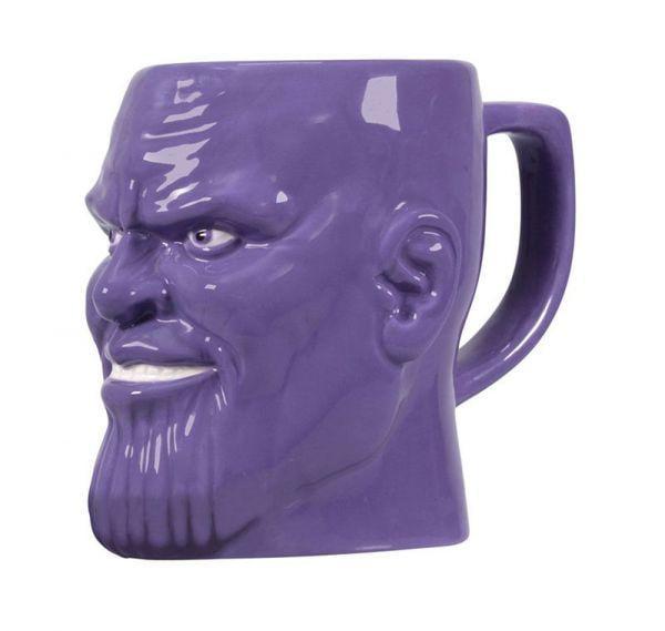 MARVEL AVENGERS - Shaped Mug 3D Boxed - Thanos_1
