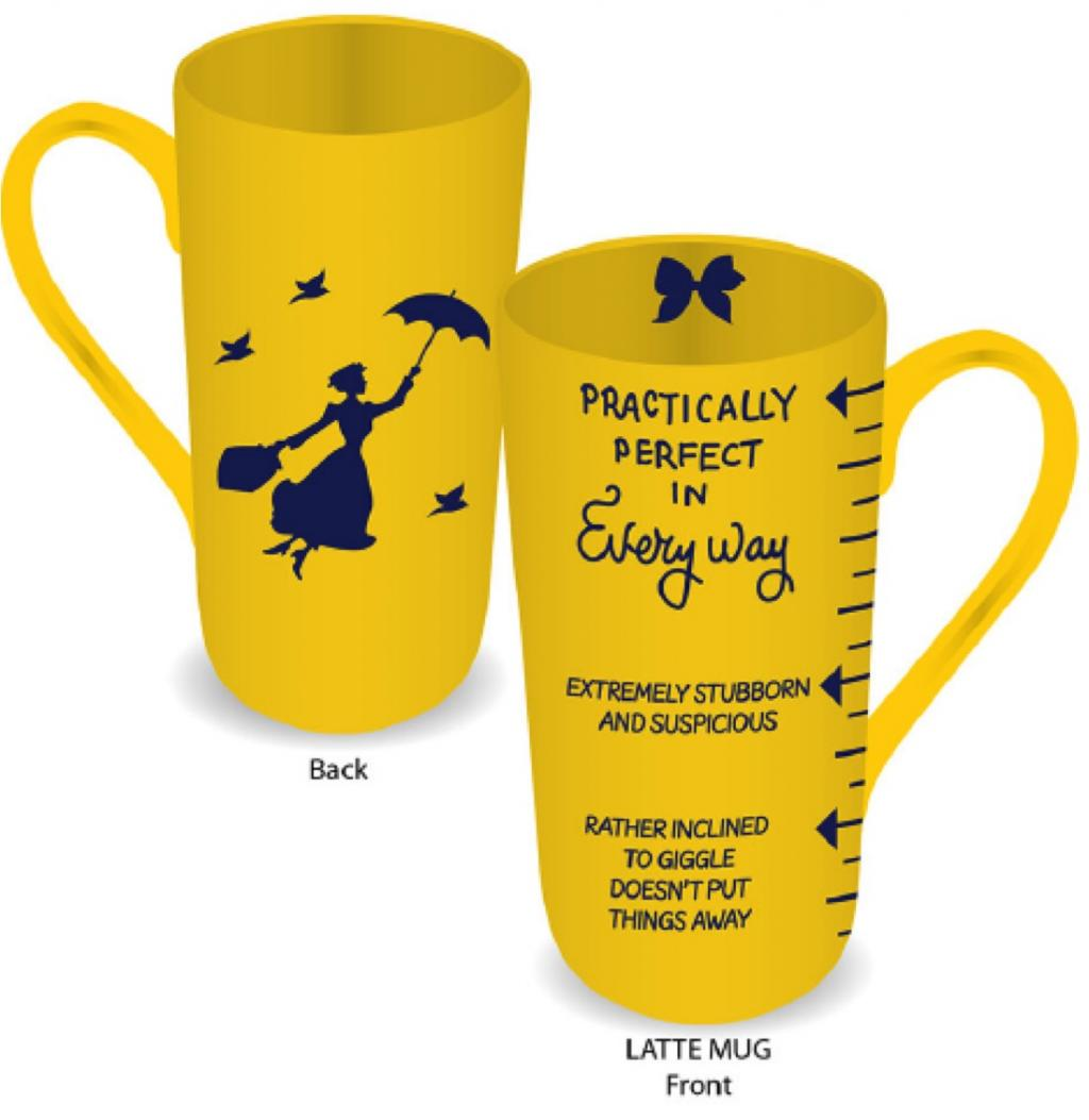 MARY POPPINS - Mug Latte - Practically Perfect