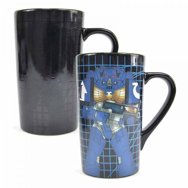 WARHAMMER - Latte Mug Thermique - 500ml - Space Marine