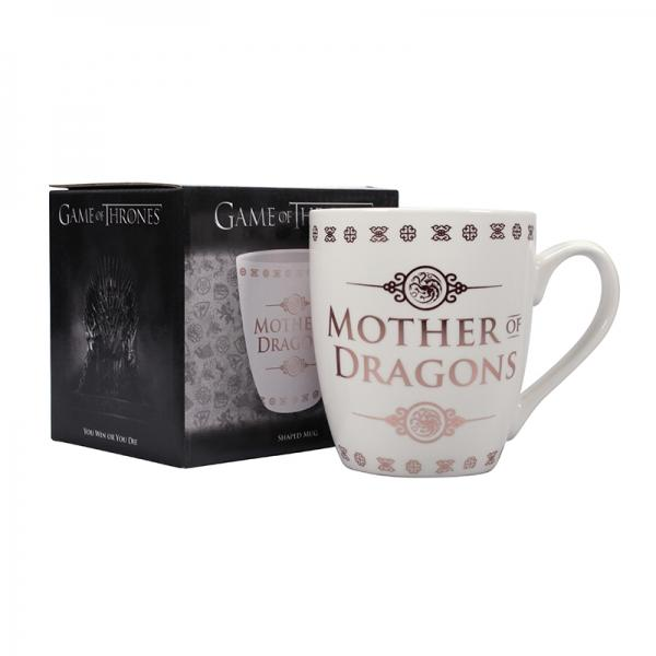 GAME OF THRONES - Shaped Mug - Mother of Dragons_1