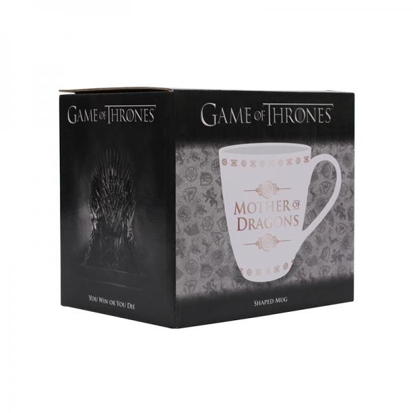 GAME OF THRONES - Shaped Mug - Mother of Dragons_2
