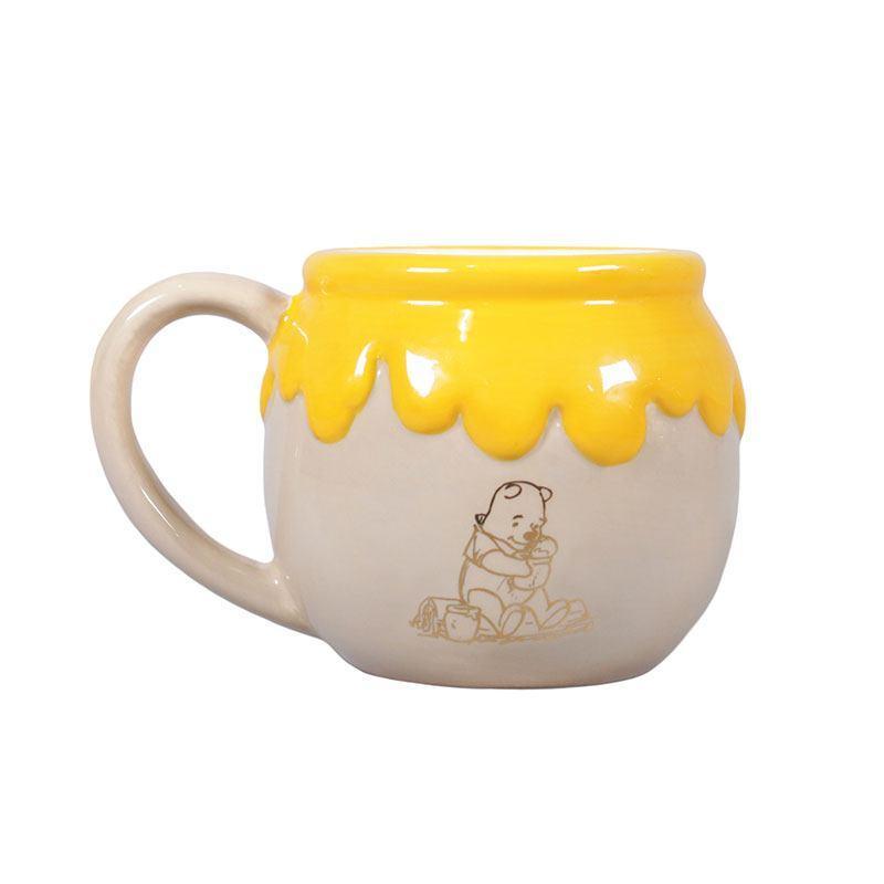 WINNIE THE POOH - Shaped Ceramic Mug 3D - Hunny_1
