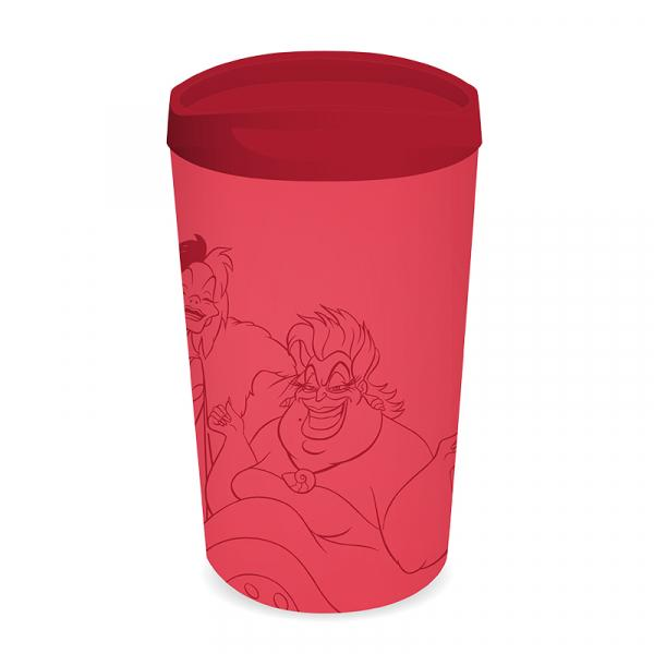 DISNEY - Travel Mug Metal - Disney Villians 'Evil Today'