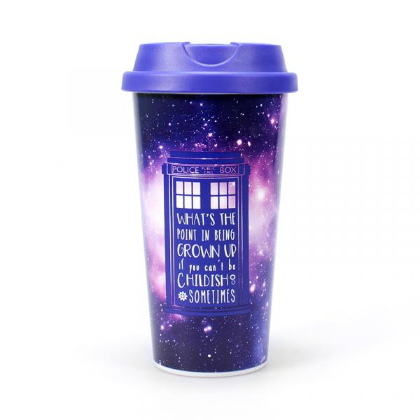 DOCTOR WHO - Travel Mug 450ml - Galaxy