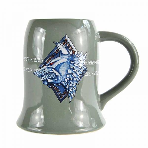 WARHAMMER - Tankard Mug - 500ml - Space Wolves