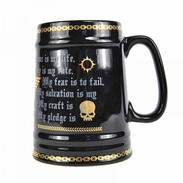 WARHAMMER - Tankard - 850ml - Pledge