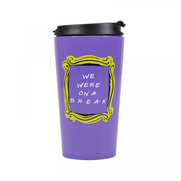 FRIENDS - Travel Mug Metal - We Were On A Break