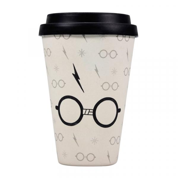 HARRY POTTER - Travel Mug 'Bamboo'  - Glasses
