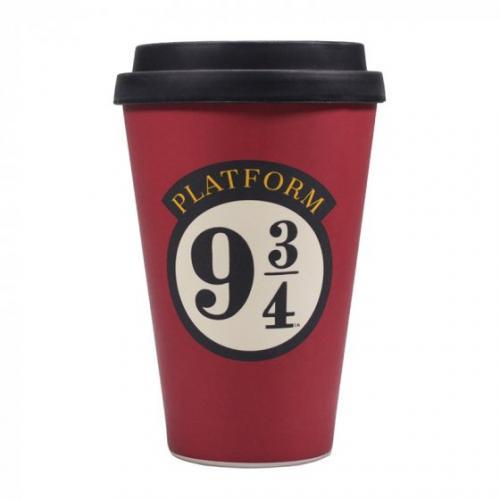HARRY POTTER - Quai 9 3/4 - Mug de voyage
