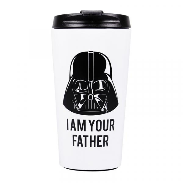 STAR WARS - Travel Mug Metal - Dark Vador I am Your Father_1