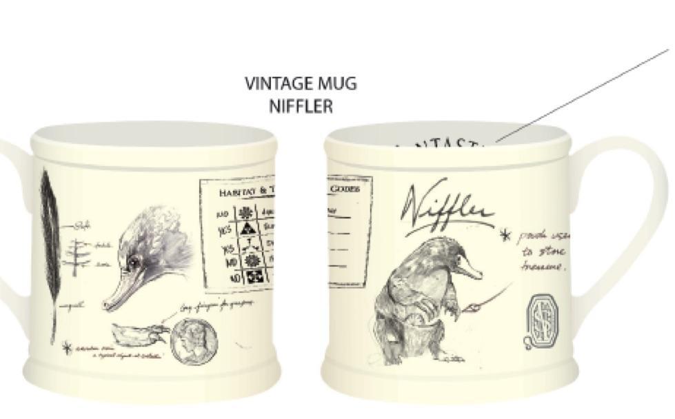 FANTASTIC BEASTS - Vintage Mug - Niffler