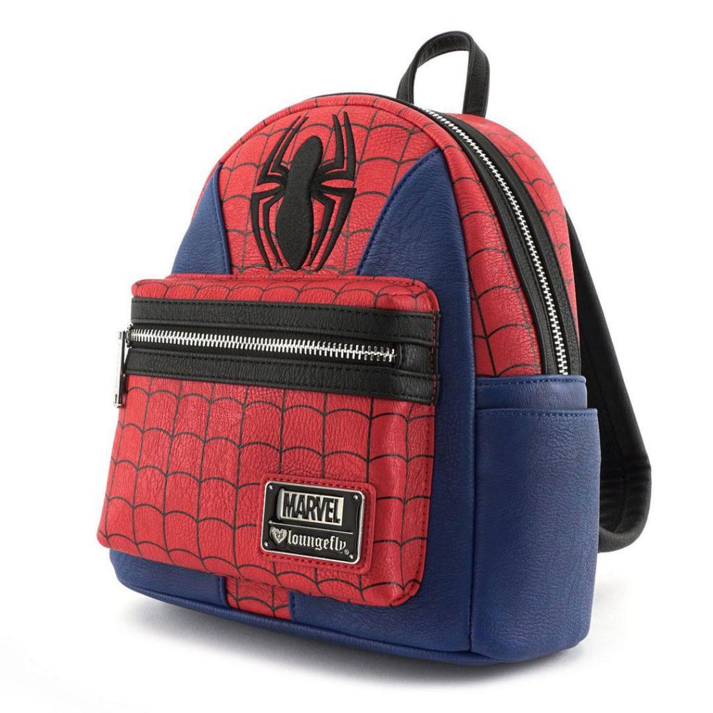 MARVEL - Spiderman Suit Mini Backpack 'LoungeFly'