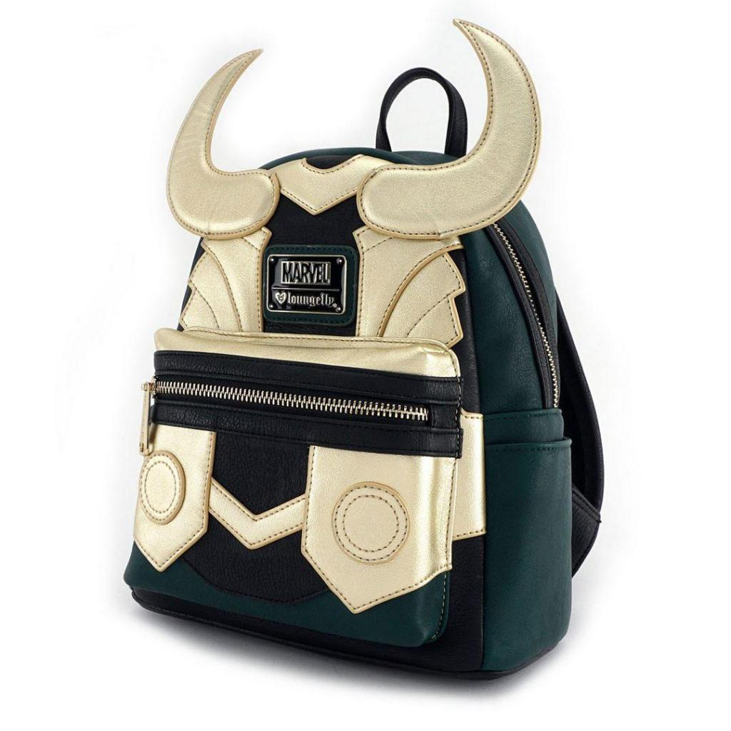 MARVEL - Loki Cosplay Mini Backpack 'LoungeFly'