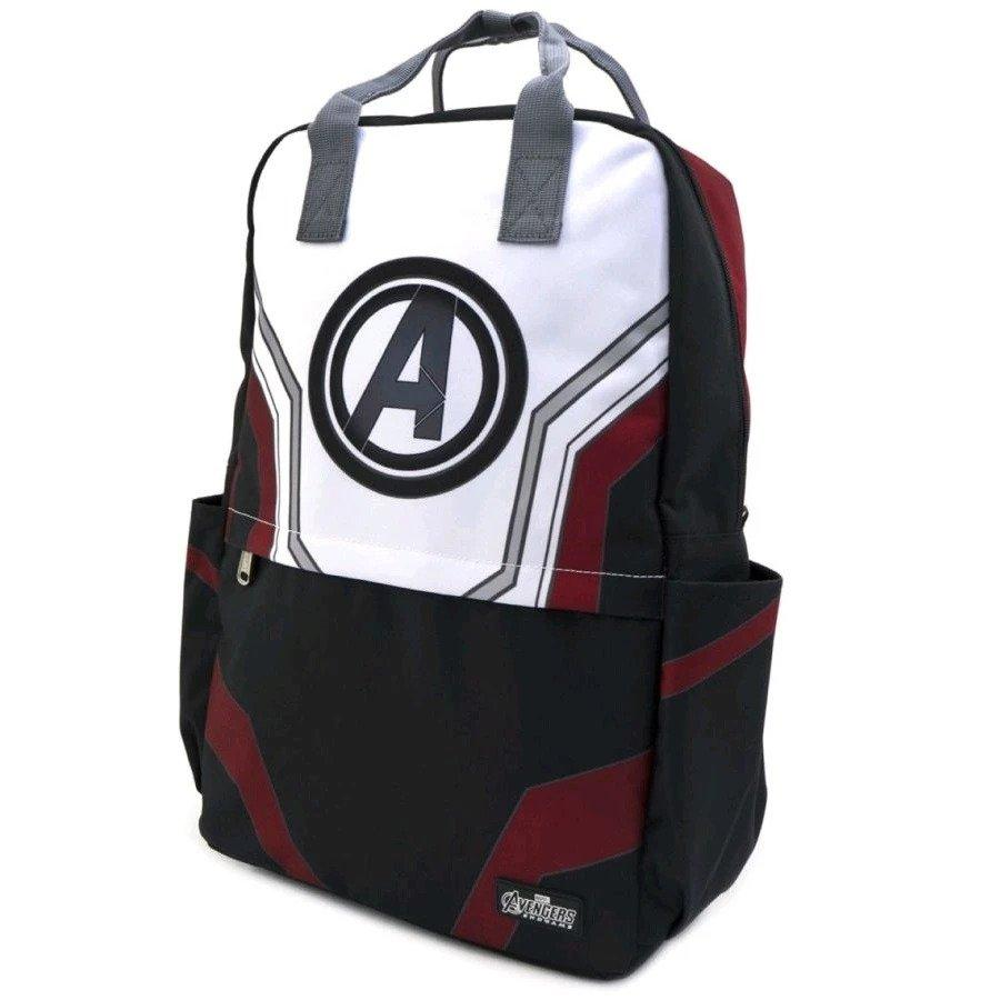 AVENGERS - Endgame Suit Square Nylon Backpack 'LoungeFly'