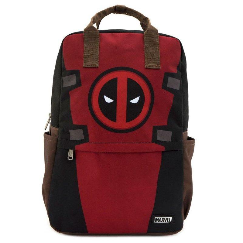 DEADPOOL - Cosplay Square Nylon Backpack 'LoungeFly'