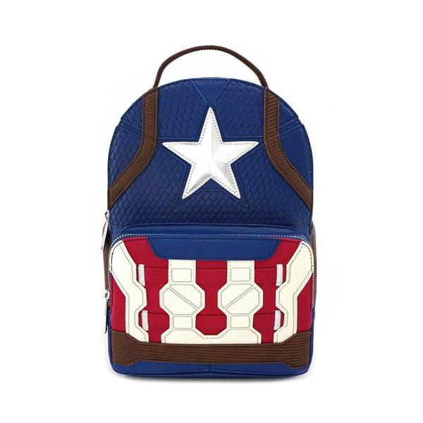 CAPTAIN AMERICA - End Game Hero Mini Backpack 'LoungeFly'