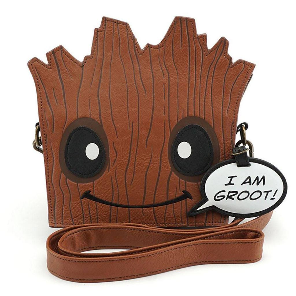 MARVEL - Groot Face Xbody Bag 'LoungeFly'