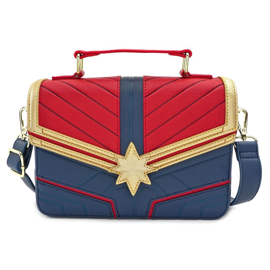 MARVEL - Captain Marvel Crossbody Bag 'LoungeFly'