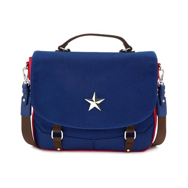 CAPTAIN AMERICA - End Game Hero Messenger Bag 'LoungeFly'