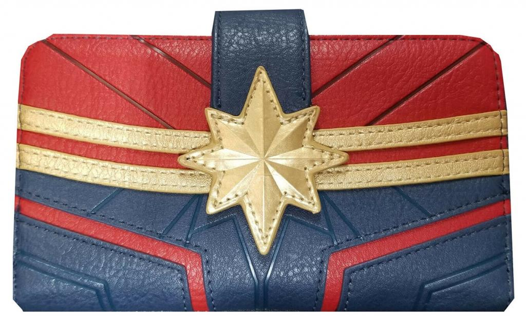 MARVEL - Portefeuille Captain Marvel 'LoungeFly'_1