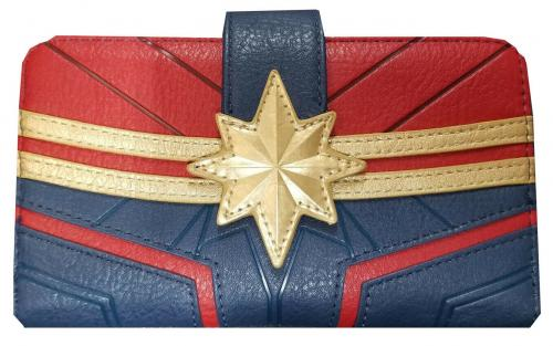 MARVEL - Portefeuille Captain Marvel 'LoungeFly'