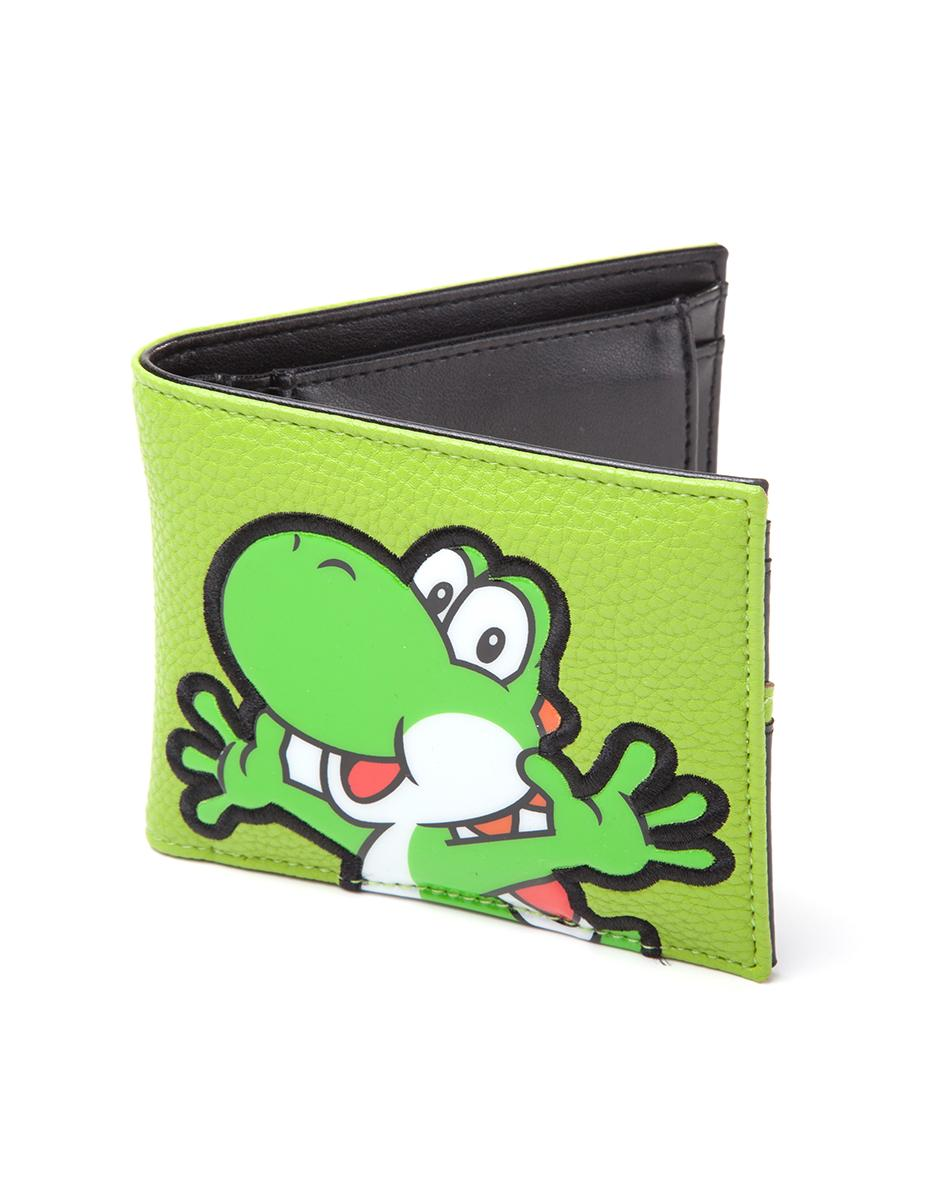 NINTENDO - Portefeuille - Yoshi PVC Patch Bi-Fold Wallet