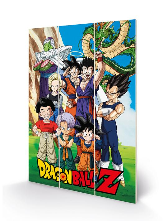 DRAGON BALL Z - Unbreakable Bonds - Impression sur bois 20x29.5_1