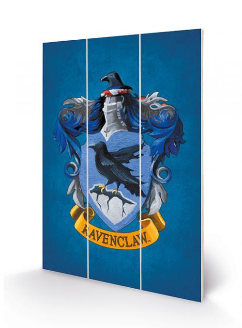 HARRY POTTER - Ravenclaw Crest - Impression sur bois 20x29.5