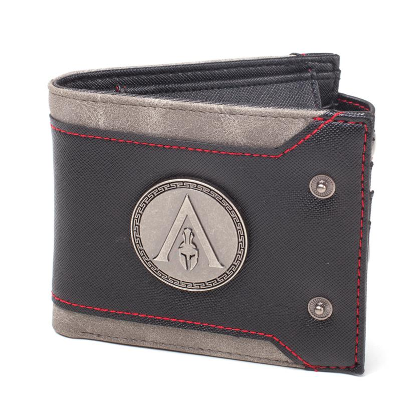 ASSASSIN'S CREED ODYSSEY - Bifold Wallet with Metal Odyssey Logo