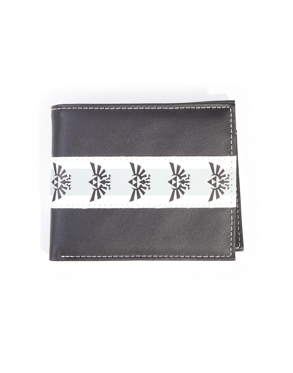 NINTENDO - Zelda Black & White Bifold Men's Wallet - A
